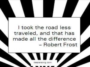 road less traveles