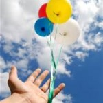 baloons releasing